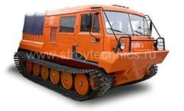 Гусеничный тягач ТТМ-3902ГР Тайга