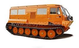 Гусеничный тягач ТТМ-3902ПС Тайга